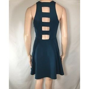 Abercrombie and Fitch dress with open back